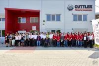 Officiële opening van nieuw fabriekspand Güttler.