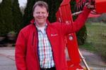 Koen Dieker is de nieuwe fabrieksvertegenwoordiger voor Nederland en Vlaanderen.